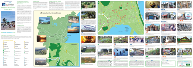 eThekwini Green Map, 1st edition print version